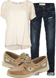sperry outfits, day outfits, park, boat shoes, sperrys outfits, casual outfits, polyvore casual, blues, shirt