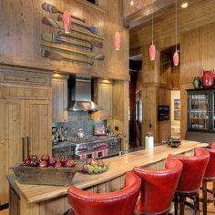 cute kitchen bar