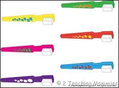Dental theme preschool centers