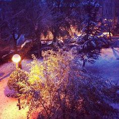 Buenos y nevados días - @chemalara- #webstagram