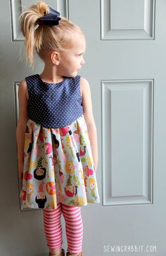 Sewing Tutorial - Back To School Dress Tutorial by The Sewing Rabbit