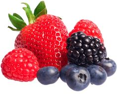 Berries are low sugar fruits