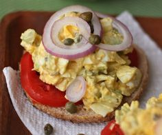 Recipes for Egg Salad Sandwiches & Deviled Eggs...YUM!! from @Sandy Coughlin at Reluctant Entertainer