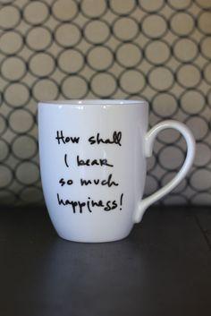 Jane Austen mug!