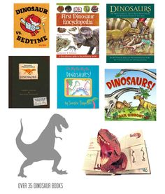 30+ Dinosaur Activities, Crafts, and Books for Kids *saving this for later. great collection of ideas.