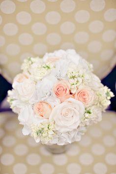 stock, hydrangea and roses