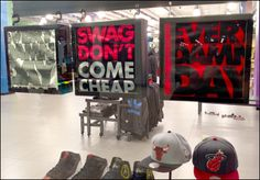 Swag Don't Come Cheap T-Shirt in a Shadowbox