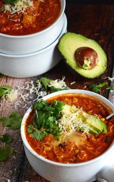Chicken Tamale Soup.