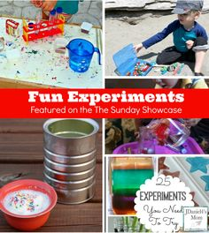 Fun and Cool Experiments For Kids