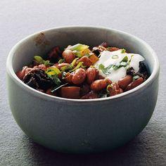 Pinto-Bean Mole Chili Recipe