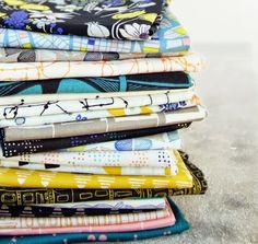 FabricWorm: Fabricworm Giveaway: Leah Duncan's Gramercy in Nightfall