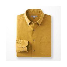 MEN Corduroy Long Sleeve Shirt - Lots of colours - £20