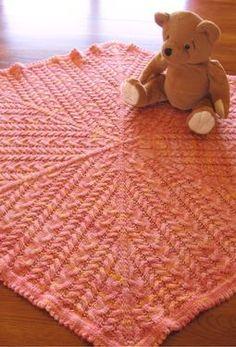 Sisterhood Baby Blanket - Knitting Patterns and Crochet Patterns from KnitPicks.com