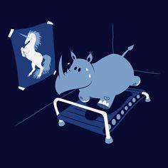dream big, body images, diet, aim high, weight loss, motivational pictures, unicorn, keep running, shirt