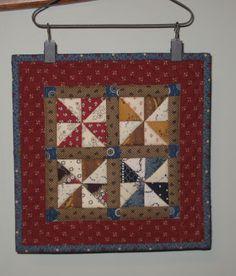 """8"""" square mini quilt"""