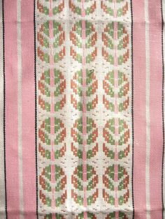 Vtg Czechoslovakian TEA TOWEL Abstract by lostnfounddrygoods, $18.00