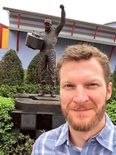 Dale Earnhardt Jr. Wins Daytona 500, Joins Twitter, Poses With Dad's Statue, Warms Hearts