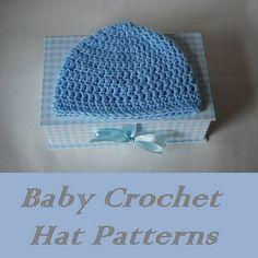 free crochet baby hat patterns-free crochet hat patterns