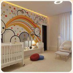 baby room grafitti