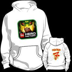 HERO FACTORY HOODED SWEATSHIRT