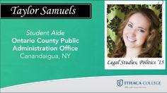 Taylor Samuels, congrats!