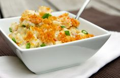 This Buffalo Chicken Casserole recipe contains ranch dressing, hash brown potatoes, boneless skinless chicken breasts, shredded cheddar cheese, can of cream of chicken soup, and more.
