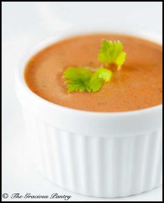 Clean Eating Tomato Soup
