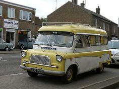 Vintage Car - Bedford Campervan