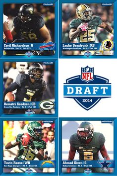 For the 2nd time in 3 years, #Baylor produced the most #NFLDraft picks in Texas. #SicEm