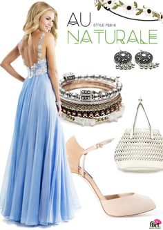 Flirt Prom style P2816 styled for the haute hippie #hippie #peace #love #prom #dress