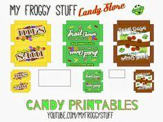 My Froggy Stuff...Printines