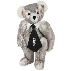 """15"""" Salt and Pepper Bear from Vermont Teddy Bear. $69.99 #Birthday #Gift #TeddyBear"""