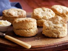 Butter? Jam? Eggs and ham? What would you top Tyler Florence's Buttermilk Biscuits with?