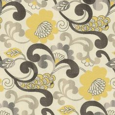 Home Decor Print Fabric- Better Homes and Gardens Alouette Golden, fabric for kitchen chairs