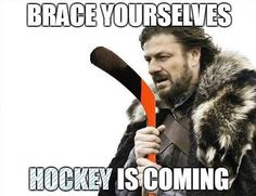 NHL SEASON Hockey is Coming