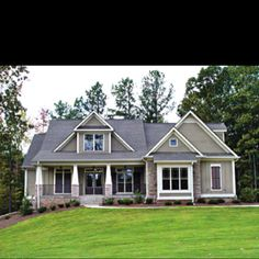 Craftsman Style Homes-color ideas, once e put up stones on columns