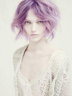 lilac hair <3