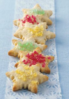 Sugar Cookie Cutouts — Grab the sprinkles and your rolling pin and rock these gorgeous (and delicious) Sugar Cookie Cutouts. Check out the choco-orange and spiced recipes too.