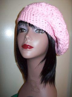 free crochet headband patterns for women | Free Crochet Patterns Beret Hats pictures