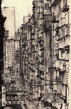 Artist Sketches Each Lonely City He Moves To - My Modern Metropolis