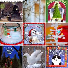 The Crafty Crow's Christmas book list Advent with an activity to go with each one