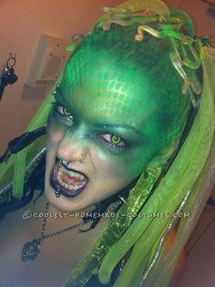 Creative Cyber Medusa Homemade Costume... Homemade Costume Contest