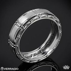 Verragio Dual Channel Wedding Ring