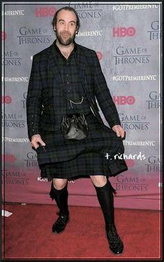 "Rory McCann (""Sandor Clegane"") at the S4 Premier in NYC"