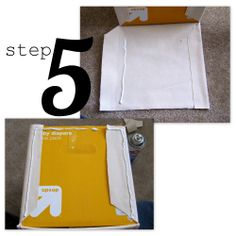 Positively Splendid {Crafts, Sewing, Recipes and Home Decor}: Let's Make Something Together - Lined Canvas Bins (from Diaper Boxes!)