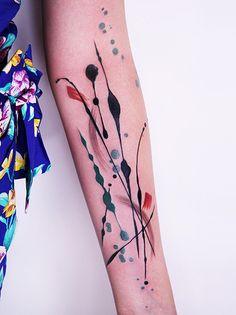 Abstract tattoo art, amazing.
