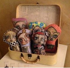 Whimsical Dolls - Art Is...You - Your Mixed Media Art Retreats