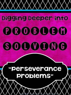 """Want to get ready for a """"new year"""" of problem solving?...This resource has been in my mind for months and I have been furiously working on it for weeks.  I believe SO strongly that we, as teachers, need to explicitly teach our intermediate students how to tackle challenging problems and how to develop the math behaviors to be successful.  Filled with teaching tips, photos, and 24 high quality problems to get things moving in YOUR classroom!  Check out the preview for details! $9"""