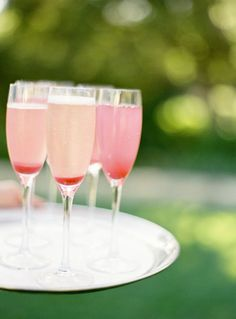 pink signature drinks