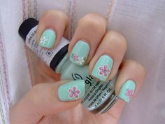 Cute design for Spring nails